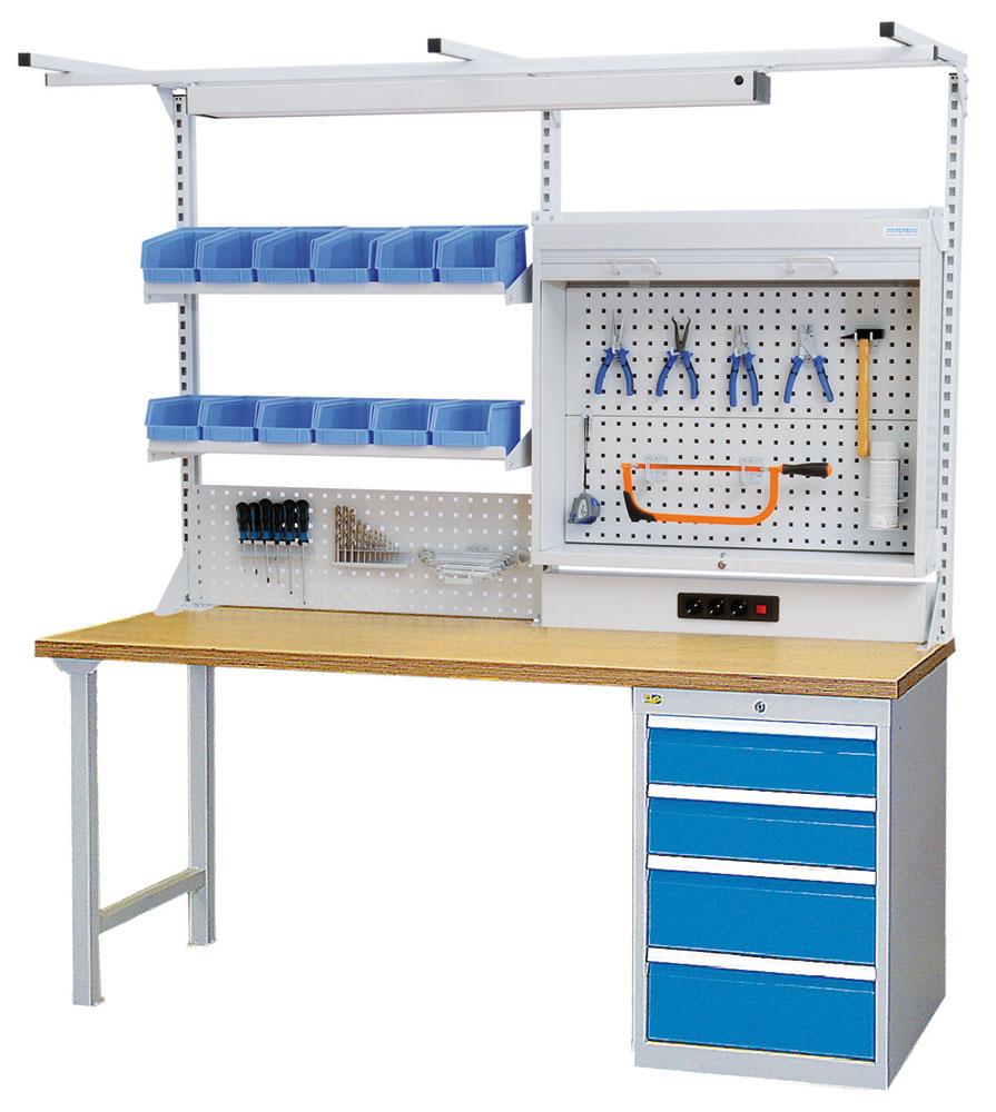 Werkbankaufsatz 200-125-B | Werkbankaufbauten | Werkbänke ...