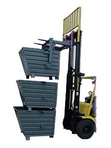 Stapelkipper, Traglast: 2000 kg, Volumen: 900 dm³, verzinkt